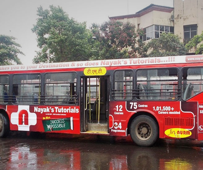 Bus Branding & Advertising Agency